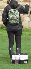 Hunter wellies (Hunter Wellies!!) Tags: public boots hunter wellies gummistiefel wellingtons regenlaarzen