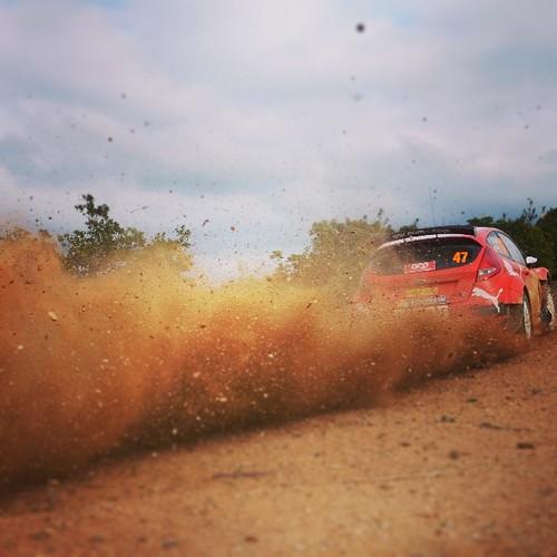 #WRC #RallydePortugal #Ford #FiestaR2