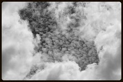 Eternity (Zelda Wynn) Tags: bw nature weather clouds blackwhite layers artgalleryofnsw cloudscape troposphere inspiredbyalfredstieglitz zeldawynnphotography