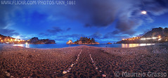 Isola Bella, Taormina (UKN_1861) Tags: sea italy night italia mare sicily bella isolabella taormina notte sicilia isola
