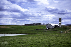 PA Country (mmitchelllandscapes) Tags: canon landscape spring pennsylvania farm country bluesky silo landscapephotography offthebeatenpath countrylandscape countrylandscapes canon60d countryfarm newenterprise