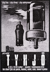 Tyhj, Semafori (Sakari Karipuro) Tags: house history suomi finland flyer scan scanned techno rave flyers tampere nineties 1990s oldflyers
