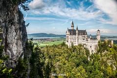 Castello di Neuschwanstein (iw2ijz) Tags: castle germany neuschwanstein castello ludovico germania baviera romanticstrasse stradaromantica