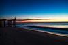 Ocean Grove Sunrise (ajdimauro) Tags: ocean sky beach sunrise coast pier shore oceangrove oceangrovenj