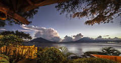 Lago de Atitlan (alanmtb21) Tags: sunset lake volcano paisaje atitlan turismo vulcano guate volcan  solola inguat visitguatemala fotografoguatemalteco