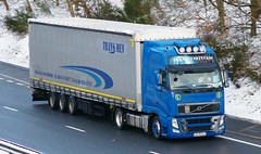 VOLVO FH Globetrotter XL - TRANS MEN Sacalaz Romania (scotrailm 63A) Tags: european romania trucks foreign lorries