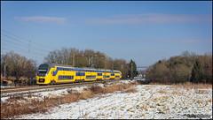 31 januari 2015 - NS 9595 - Wezep (EnricoSchreurs) Tags: snow train canon eos ic rotterdam ns sneeuw january railway zug groningen trein januari intercity centraal spoorwegen 536 nederlandse 2015 virm 600d wezep