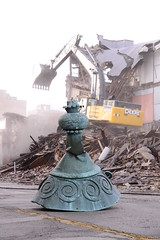 Sauter Demolition ([jonrev]) Tags: street city building men abandoned water century for store illinois down demolition il f torn block tear unlimited destroyed waukegan genesee 19th ruined fashions sauter sterns fsauter
