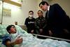 104年2月5日 馬英九總統訪視復興航空GE235事故傷者