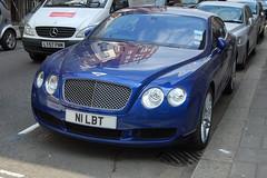 Bentley Continental GT Diamond Series (D's Carspotting) Tags: blue london united continental kingdom diamond series gt bentley 20100625 n1lbt