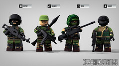 RUSSIANS ARE BACK! (X39BrickCustoms .com) Tags: lego legos custom printed russians minifigure bf4 x39brickcustoms