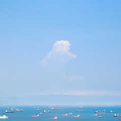 Cloud, Singapore Strait (alkanphel) Tags: fujifilm xt1
