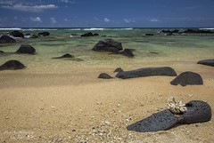 Kauai Beach (Freshairphotography) Tags: ocean shells beach beautiful coral hawaii lava coast sand peaceful pacificocean kauai hawaiian tropical serene