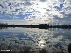 Le lac de Monteux  (Vaucluse) le 5 janvier 2016 (Nature et culture (Sud de la France)) Tags: nature provence nuage vaucluse lacmonteux