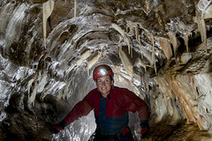 _GH7620 (ChunkyCaver) Tags: derbyshire cave caving calcite giantshole caver