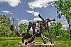 Pyramid Hill (chuck madden) Tags: ohio sculpture art hamilton pyramidhill chuckmadden