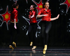 Groovin' in black-n-red (R.A. Killmer) Tags: dance stage performance teens dancer entertainer talented skill danceworkshopbyshari