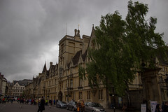 Broad Street (brianmcl58) Tags: street uk england tree university cloudy oxford oxforduniversity broadstreet