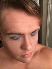S#sisstep 5: elaborate eyeshadow S#siss#sissy #sluts #makeover #beforeafter#crossdress #trans #trap (anna.brighteyes) Tags: sissy makeover trans crossdress trap beforeafter sluts