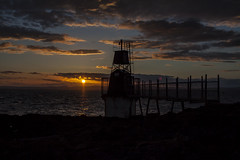light at the edge of the world (Super70 Photography) Tags: clouds portishead batterypoint