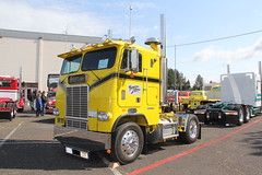 ATHS National 2016 (18) (RyanP77) Tags: aths truck show salem oregon peterbilt kw kenworth logger cabover pete freightliner marmon dump semi