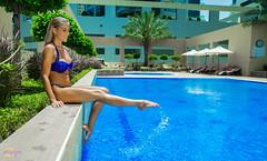 Leo Bikini-5 (Khalid Zane) Tags: pose model dubai hungary shoot photoshoot supermodel posing bikini hungarian mydubai