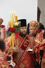 30. Paschal Prayer Service in Svyatogorsk / Пасхальный молебен в соборном храме г. Святогорска