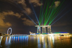 Marina Bay Sands hotel (jaywu429) Tags: travel sky beautiful beauty night lights singapore nightshot outdoor sony tokina lightshow singaporeriver marinabay marinabaysands marinabaysandshotel tokina1628mm sonya7r