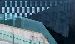 MOL-Mann Abstract (stephenbryan825) Tags: reflection glass contrast liverpool buildings graphic abstracts selects mannisland museumofliverpool