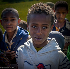 Innocence.... (Ethiopia) (Peraion) Tags: africa sun boys hair village faces innocence ethiopia schoolboys