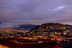 Panecillo (leoleamunoz) Tags: city landscape ecuador shift ciudad 12 tilt nocturne maqueta tiltshift