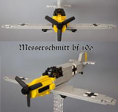 Messerschmitt bf 109 (kr1minal) Tags: 2 lego nazi wwi german custom worldwar moc luftwaffe wehrmacht minifug