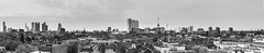 Panorama view of Rotterdam (Ivo Kreber) Tags: city travel urban panorama netherlands skyline buildings photography rotterdam view wide center exploration euromast erasmusbrug canonef1740mmf4l