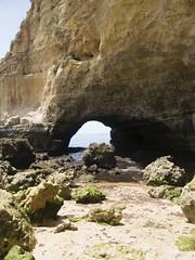 Hhle am Kstengebirge (esseffdeearr) Tags: portugal algarve olhos dagua riu guarana praia da falesia albufeira portimao vacation