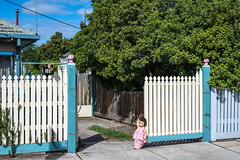 Newport (Westographer) Tags: house gate doll suburbia australia melbourne newport picketfence westernsuburbs