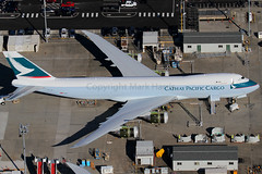 Cathay Pacific Cargo Boeing 747-867F B-LJK (Mark Harris photography) Tags: seattle plane canon aircraft aviation spotting