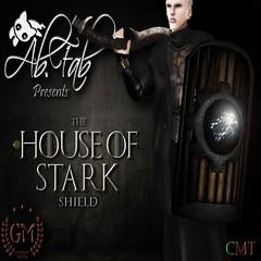 [Ab.Fab] The House of Stark Shield Poster v1 (abfaboutique) Tags: abfab stark shields slfashion fantasyroleplay slroleplay slmesh meshshield roleplayfashionsl slgot slabfab houseofstarksl