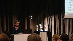"Karen Grant discussing the agenda for the evening • <a style=""font-size:0.8em;"" href=""https://www.flickr.com/photos/124986169@N08/27246993084/"" target=""_blank"">View on Flickr</a>"