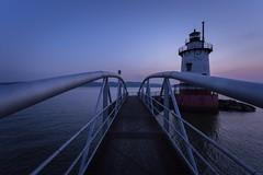 Lighthouse (dan_leitenberger) Tags: lighthouse river dusk