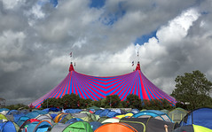 John Peel Tent - Glastonbury Festival (wentloog) Tags: uk camp england sky music cloud abstract field rock canon britain farm steve somerset tent indie 5d glastonburyfestival johnpeel bigtop worthy pilton 2016 garrington