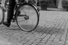 gone (pat.netwalk) Tags: motion blur bicycle wheel speed drive zurich turning copyrightpatrickfrank
