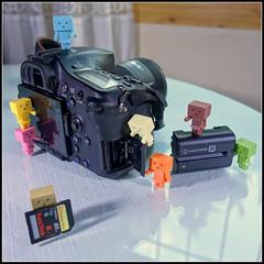 Ayudantes fotogrficos (mike828 - Miguel Duran) Tags: camera toy sony mk2 camara slt juguete danbo rx100 a77v rx100ii danbonano