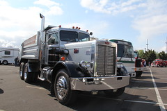 ATHS National 2016 (32) (RyanP77) Tags: aths truck show salem oregon peterbilt kw kenworth logger cabover pete freightliner marmon dump semi