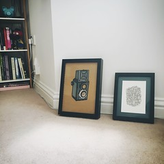 Making art decisions (179/366) (garrettc) Tags: friends art pictures decorating home oxford 366 365