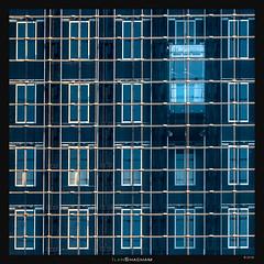 Elevators (Ilan Shacham) Tags: windows abstract architecture modern grid israel telaviv pattern geometry elevator symmetry transparency transparent minimalism ramatgan