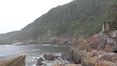 Storms River Mouth (Rckr88) Tags: ocean africa travel sea cliff nature water rock river southafrica outdoors coast rocks south cliffs coastal rivers coastline storms gardenroute tsitsikamma easterncape rivermouth rockycoastline tsitsikammanationalpark stormsrivermouth