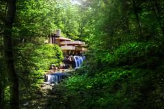 Fallingwater - Mill Run, Pennsylvania (Lord is Good) Tags: house architechture kaufmann fallingwater frankllyodwright millrun