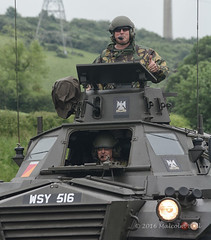 Thumbs Up (Malcolm Bull) Tags: car military vehicle guards include scots dragoon armoured 20160604tank0012edited1web