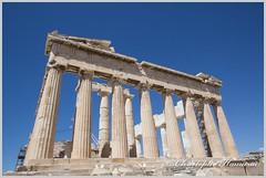Le Parthnon (Christophe Hamieau) Tags: acropole acropolis antiquity athens athnes europe greece grce colonnes greektemple ruin ruine templegrec