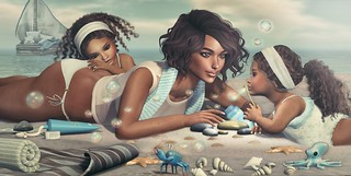 Amelie et les petites: Bubbles